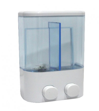 TOUCH SOAP DOUBLE DISPENSER